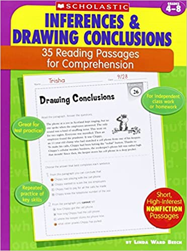Amazon.com: 35 Reading Passages for Comprehension: Inferences ...
