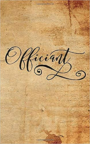 Wedding Officiant Speech.Amazon Com Officiant Wedding Officiant S Booklet For
