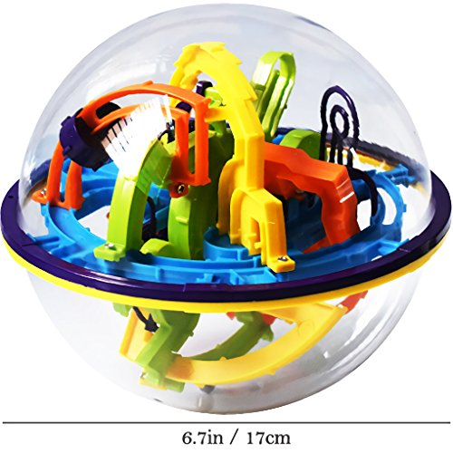 high-quality Intellect 3D Maze Ball Best Gift Containing 158