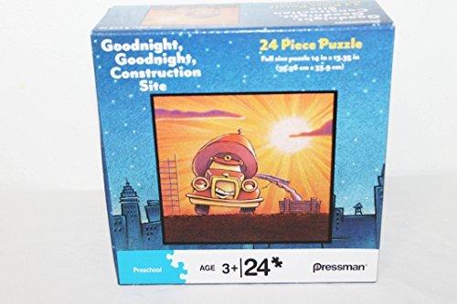 Pressman Goodnight, Goodnight, Construction Site Cement Mixer Truck 24 Piece Jigsaw Puzzle