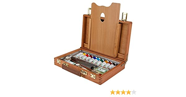 OLD HOLLAND CAJA ÓLEO MADERA 11 TUBOS 40ml + ACCS: Amazon.es ...