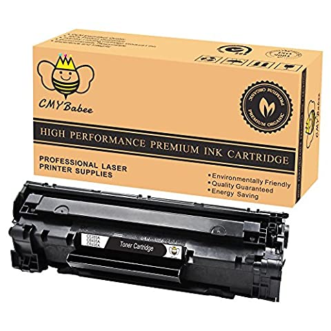 CMYBabee 1-Pack (Black) Compatible High Yield toner cartridge HP CE285A 85A Used for HP LaserJet Pro P1102W P1109w M1130 M1210 M1217nfw MFP P1006 M1212nf M1132 (Laser Jet P1006 Toner)