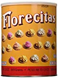 Florecitas Ice Gem Cookies 13 Oz By Royal Borinquen (2 Can)