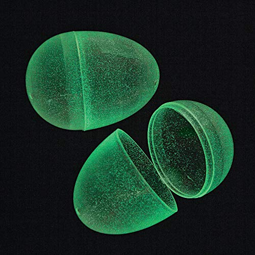 Glow In The Dark Easter Eggs by Fun Express (72 eggs per order) - Party Supplies - Easter - 72 -