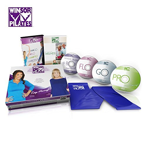 WINSOR PILATES = 4 DVDS + RESISTANCE BAND + WELLNESS PLAN = A Guaranteed Complete Body Workout