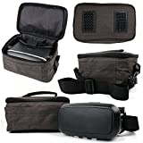 DURAGADGET Canvas Carry Case/Store Bag with Shoulder Strap for the JXD 523W RC Drone WIFI FPV Pliable Quadcopter
