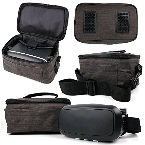 DURAGADGET Canvas Carry Case/Store Bag with Shoulder Strap for the JXD 523W RC Drone WIFI FPV Pliable Quadcopter by DURAGADGET