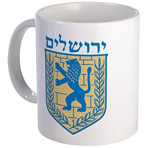 CafePress Jerusalem Emblem Mug Unique Coffee Mug, Coffee Cup