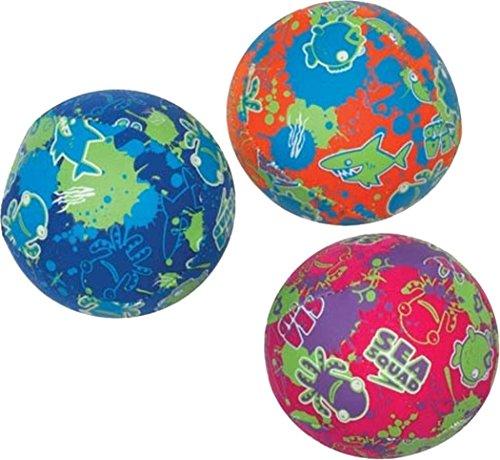 Speedo Kids Swimming Pool Fun Toys Learn To Swim Sea Squad Waterballs Set Of 3 - Waterball Toy