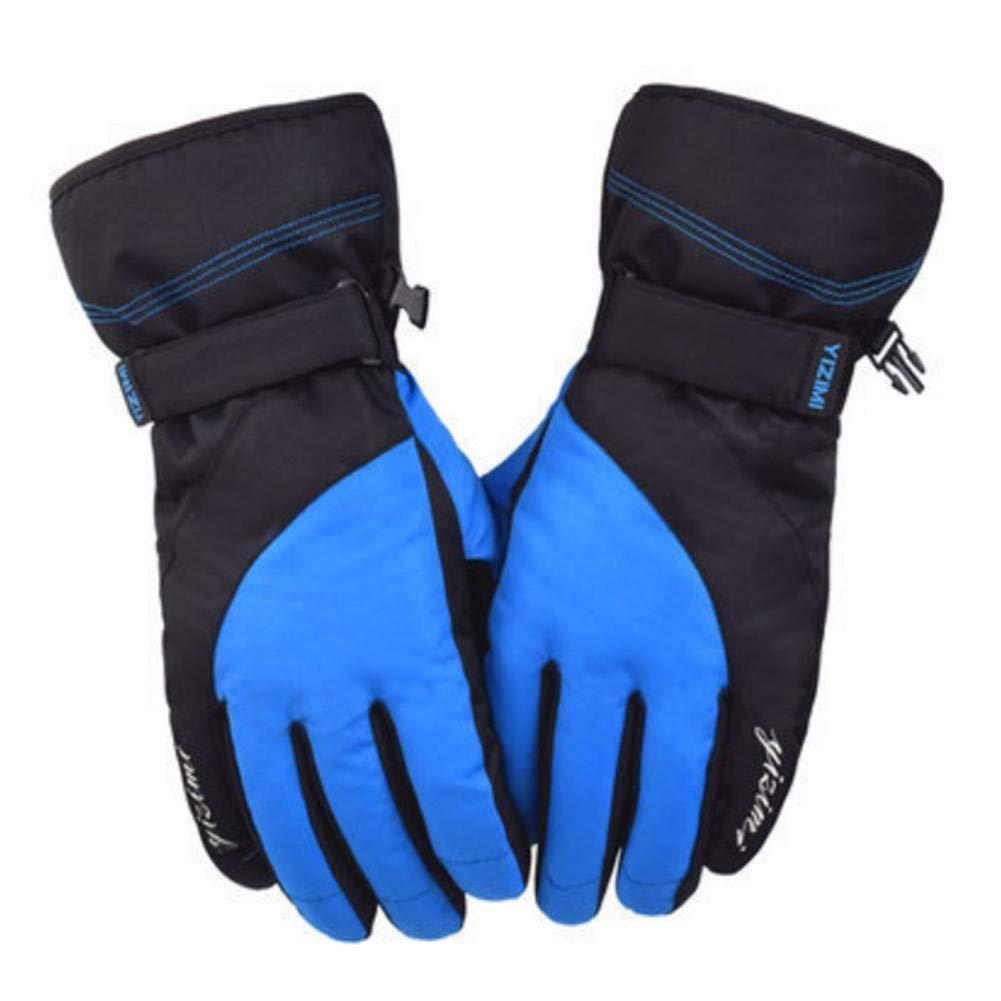 Ljourney Unisex Skihandschuhe - Winter Outdoor Plus SAMT Verdickt Warm Motorrad Slip Wear Wasserdichte Handschuhe, Warm Und Rutschfest, Ausgezeichnete Wind Und Kältebeständige Leistung