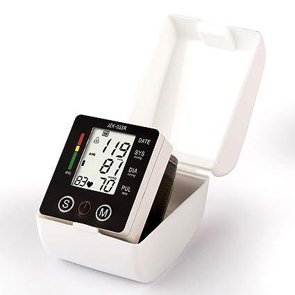 Totalmente automático Presión Arterial y Detección de Pulso Arrítmico, Tensiómetro de Muñeca