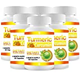 Pure Turmeric Curcumin Extract - 6 Month Supply