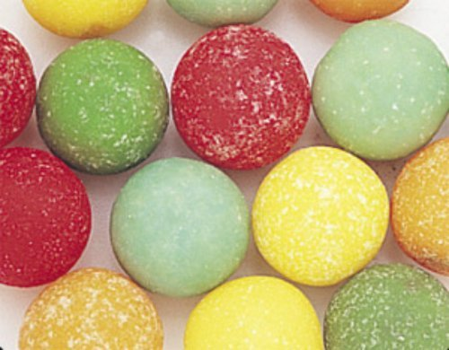 Gumballs Sour Shivers (Shivers Sour Gumballs 1LB Bag by The Nutty Fruit House)