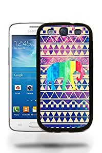 Aztec Tribal Space Elephant Hipster Pattern Phone Case Cover Designs for Samsung Galaxy S3