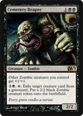 Magic: the Gathering - Cemetery Reaper - Magic 2012 ()