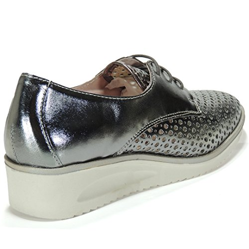 Casual 5 para Mujer 3 Color Modelo TEKILA Hueso Cuña 4255 Goma Cm Anciano Zapato 5W0wUAqS