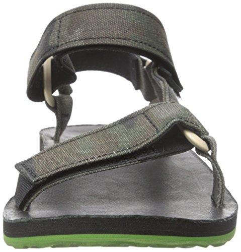 Teva Mens Sandalo Universale Universale In Tela Nera