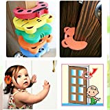 10 Pcs Baby Kids Safety Door Stopper Cute Finger Pinch Guard Protector Cartoon