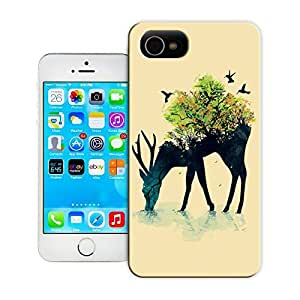 Unique Phone Case Animal painting patterns Watering (A Life Into Itself) Hard Cover for iPhone 4/4s cases-buythecase