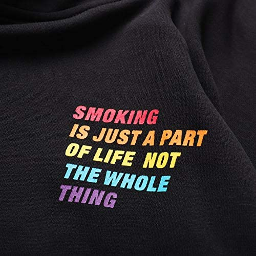 YDMZMS Herren Hoodie Regenbogendruck Pullover Hoodies Beiläufige Mit Kapuze Sweatshirts Pullover Tragen Hoodie M Orange
