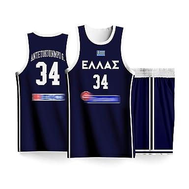 Dean 2019 - Chándal de Baloncesto para Hombre Grecia, Camiseta de ...