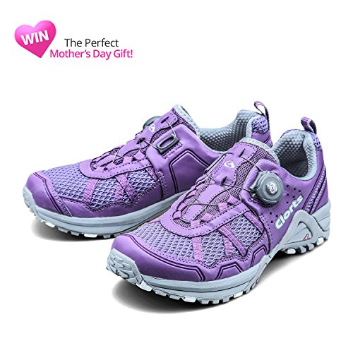 Clorts Women's Trail Running Shoe Athletic Cross Trainer BOA Sport Sneaker 3F013W Purple extremely online clearance free shipping cheap excellent quality free shipping buy cheap for sale PUxwPBY