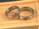 Her King His queen 316L Stainless Steel Couple Ring
