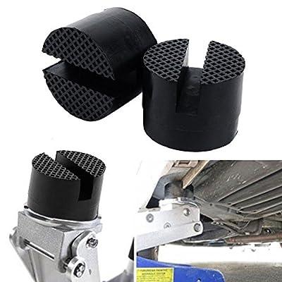FidgetFidget Guard Adapter Lift Tool Rubber Pads 2x Universal Slotted Frame Rail Floor Jack