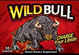 Cheap New* Wild Bull All Natural Enhancer (10 Capsules) ~ from The Makers of Schwinnng Exclusively for Naturopathic Solutions LLC