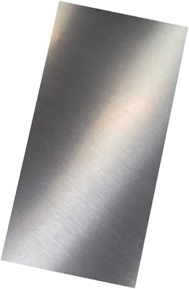 LEISHENT Chapa De Acero Inoxidable Espesor 4 Mm, Longitud 200 Mm, Ancho 200 Mm A 400 Mm,200x400x4mm