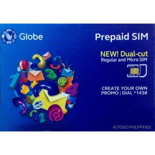 Philippines Prepaid Sim Card (Globe): Amazon ca: Cell Phones