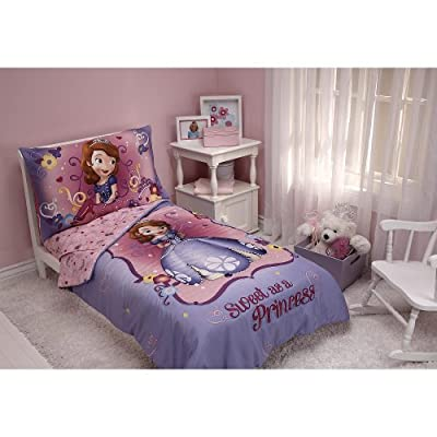 Disney Jr. Sofia the First 4-Piece Toddler Bedding Set