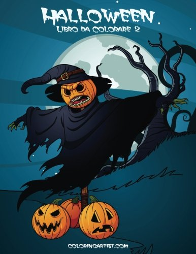 Halloween Libro da Colorare 2 (Volume 2) (Italian Edition)