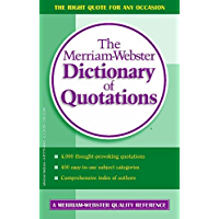 Merriam-Webster's Dictionary of Quotations