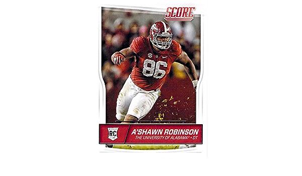 A'Shawn Robinson Alabama Crimson Tide Football Jersey-White