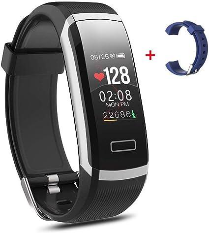 Salandens Smartwatch pulsera inteligente pulsera impermeable para actividad física IP67 monitores de medición de actividad con pulsómetro presión ar