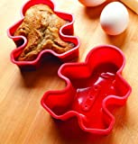 Silicone Gingerbread Molds - Set of 2