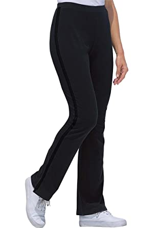 Amazon.com: Women's Plus Size Tall Stretch Bootcut Yoga Pants With ...