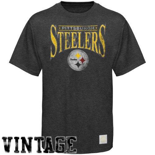 (Reebok Pittsburgh Steelers Nostalgic T-Shirt Small)