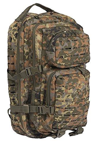 mochila Mil Tec US Assault de 20 L color camuflaje - camuflaje