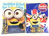 Party Favors Minions Coloring Book & Crayon Set 12 Pack ( Assorted Style)