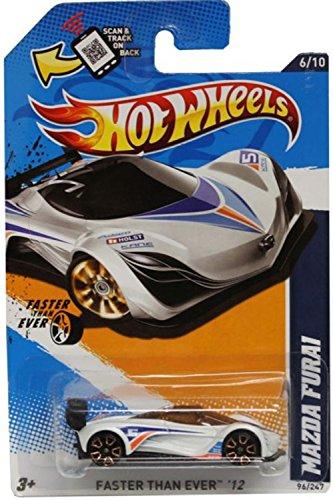 Hot Wheels - Mazda Furai (White) - HW City , Faster Than Ever - 96/247 [Scale 1:64] (Diecast Mazda Furai compare prices)