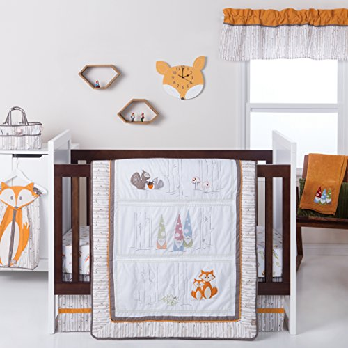 Trend Lab Gnome Boy 4Piece Crib Bedding Set ()