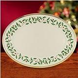 "Lenox Holiday 16"" Oval Platter"