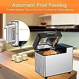MOOSOO Bread Machine with Automatic fruit