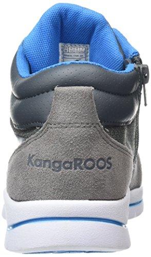 KangaROOS KB-3 B Jungen High-Top Grau (mid grey/blue 224)