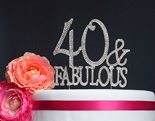40th Birthday Cake Toppers Shop 40th Birthday Cake Toppers Online