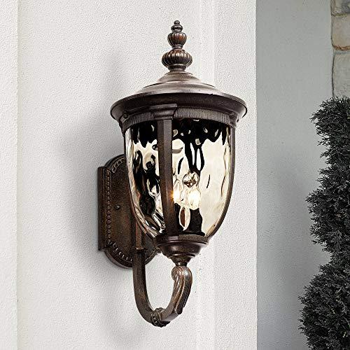 (Bellagio Outdoor Wall Light Fixture Bronze 21