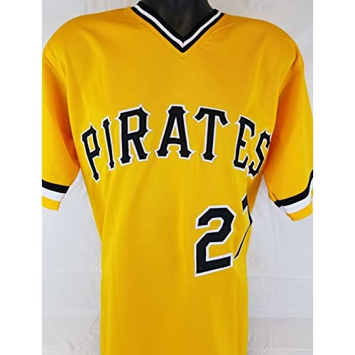 buy online 8112a d4435 Kent Tekulve autographed signed Pittsburgh Pirates yellow ...
