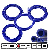 3 Meter Silicone Hose Kit Set For Engine Bay Dress Up 4Mm 6Mm 8Mm 12Mm Blue P1 for Honda Prelude